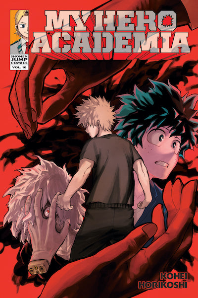 MY HERO ACADEMIA VOL 10 GN