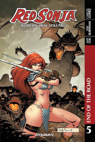 RED SONJA WORLDS AWAY VOL 05 END OF ROAD TP
