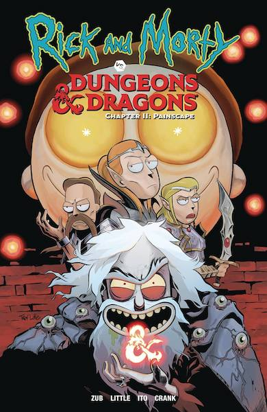 RICK AND MORTY VS DUNGEONS & DRAGONS VOL 02 PAINSCAPE TP