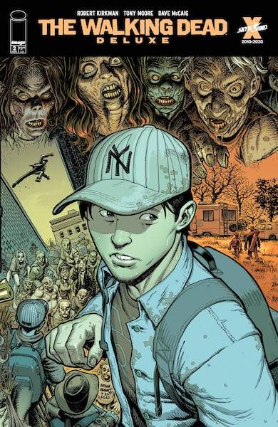 WALKING DEAD DLX #2 CVR E ADAMS & MCCAIG