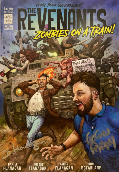 THE REVENANTS: ZOMBIES ON A TRAIN SGN FABRY CVR