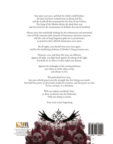 SINS RPG CORE RULEBOOK – Proud Lion (Cheltenham), Gloucestershire's