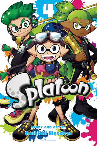SPLATOON MANGA VOL 04 GN
