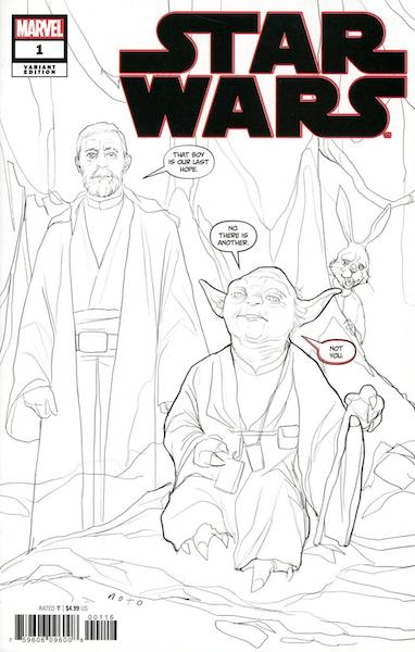 STAR WARS #1 PARTY SKETCH VARIANT