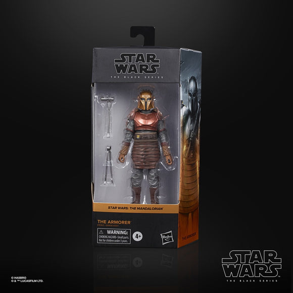STAR WARS BLACK SERIES THE MANDALORIAN THE ARMORER 6IN AF