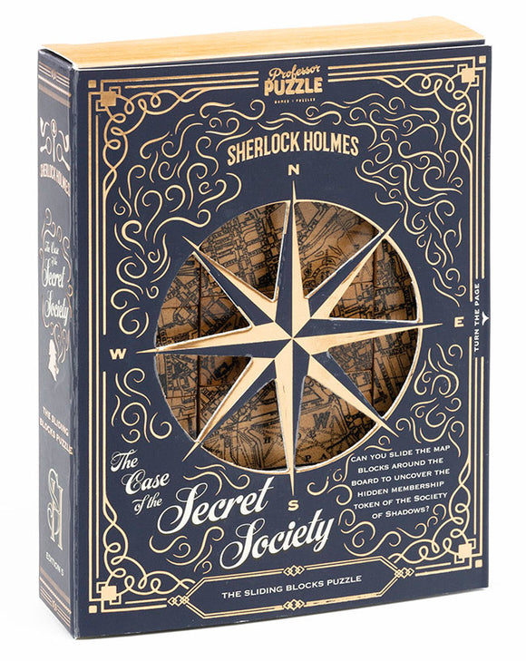 THE CASE OF THE SECRET SOCIETY WOODEN PUZZLE