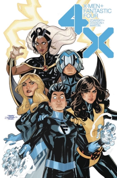 X-MEN FANTASTIC FOUR 4X TP
