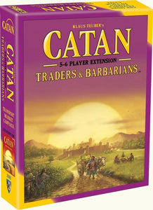 CATAN TRADERS & BARBARIANS 5 & 6 PLAYER EXPANSION (2015 REFRESH)