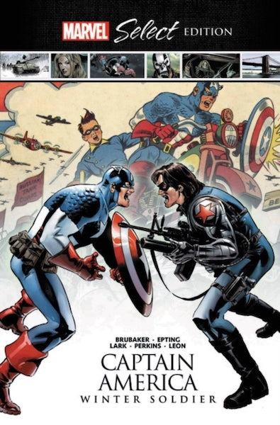 CAPTAIN AMERICA WINTER SOLDIER MARVEL SELECT HC
