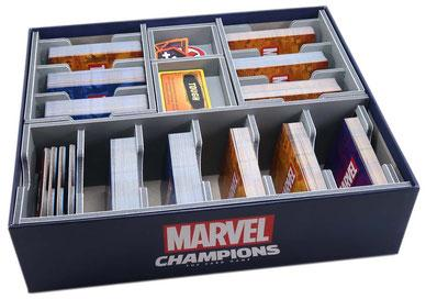 FOLDED SPACE INSERT: MARVEL CHAMPIONS