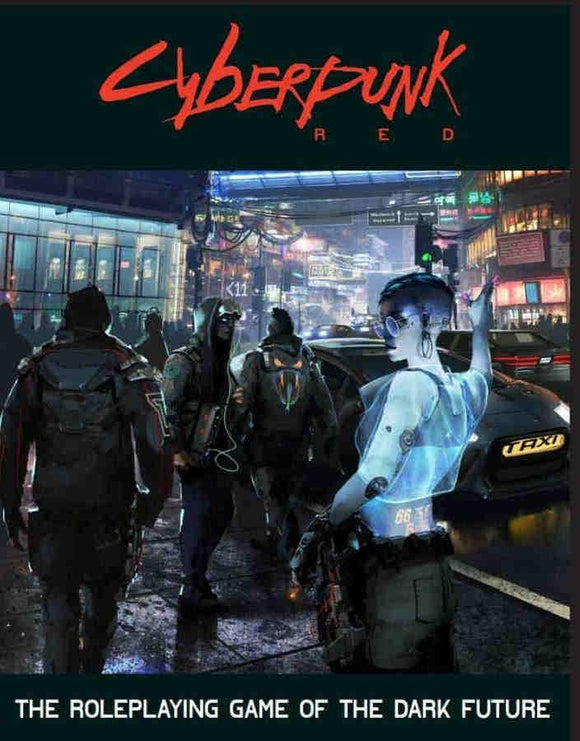 [PREORDER] CYBERPUNK RED RPG CORE RULEBOOK