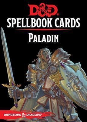 DUNGEONS & DRAGONS 5TH EDITION RPG PALADIN SPELLBOOK CARDS (2017)