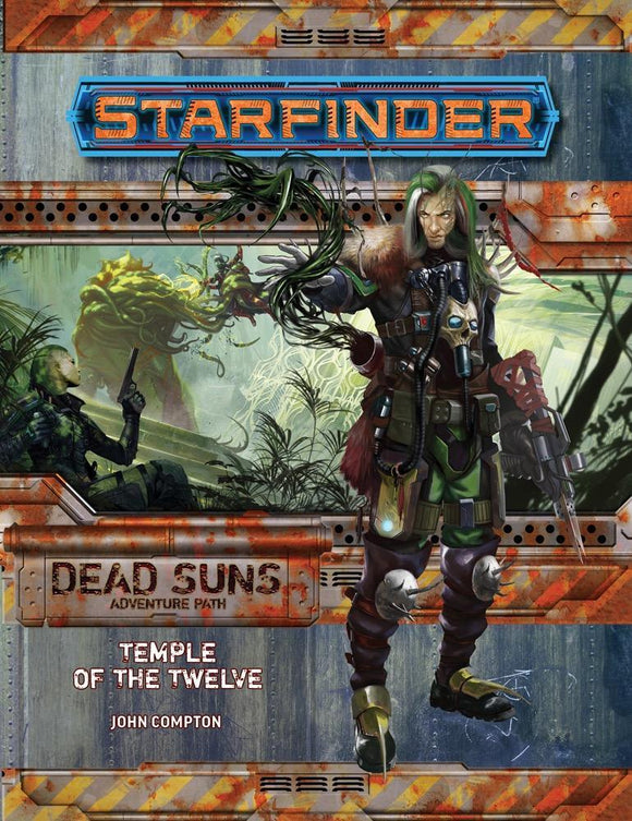STARFINDER RPG ADVENTURE PATH DEAD SUNS PART 2 OF 6 TEMPLE OF THE TWELVE SC