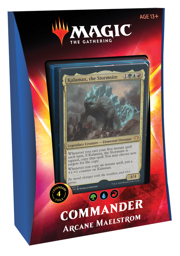 MAGIC: THE GATHERING IKORIA: LAIR OF BEHEMOTHS COMMANDER DECK