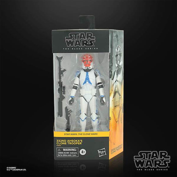 STAR WARS BLACK SERIES 332ND AHSOKA'S CLONE TROOPER 6IN AF