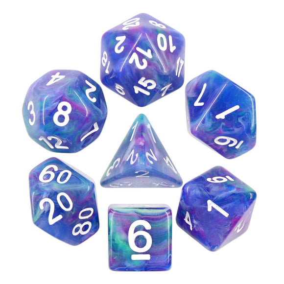 MUSE POLYHEDRAL 7-DIE SET - NORTHERN LIGHTS