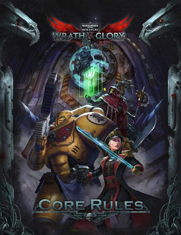 WARHAMMER 40K RPG WRATH & GLORY CORE RULEBOOK