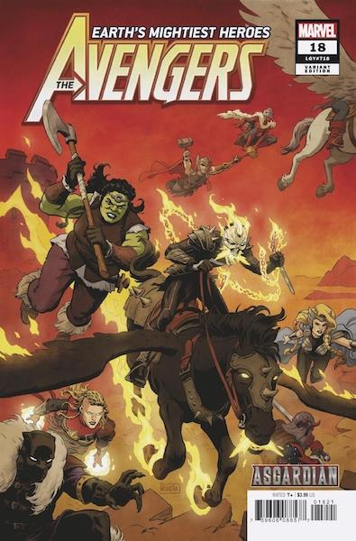AVENGERS WAR OF THE REALMS COMIC PACK