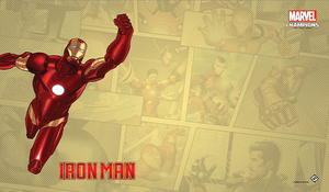 MARVEL CHAMPIONS THE CARD GAME IRON MAN GAME MAT