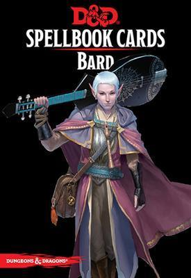 DUNGEONS & DRAGONS 5TH EDITION RPG BARD SPELLBOOK CARDS (2017)
