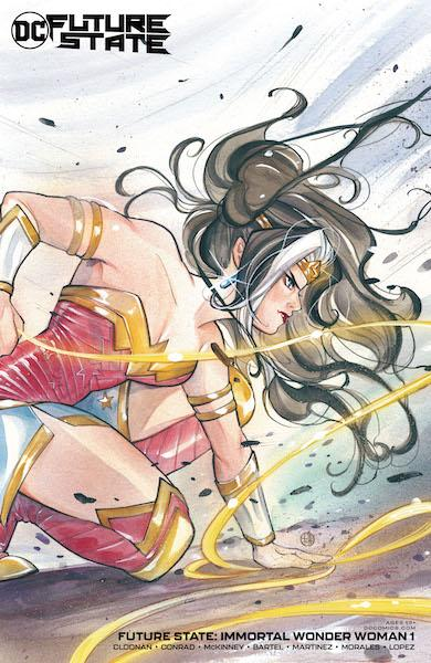 FUTURE STATE IMMORTAL WONDER WOMAN #1 CARD STOCK VAR ED