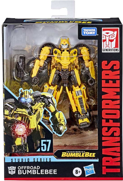 TRANSFORMERS STUDIO SERIES DELUXE BUMBLEBEE MOVIE OFFROAD BUMBLEBEE AF