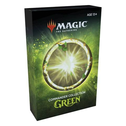 MAGIC: THE GATHERING COMMANDER COLLECTION GREEN