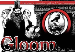 GLOOM CARD GAME 2ND EDITION