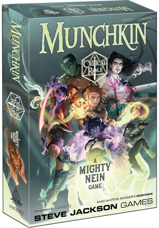 [PREORDER] MUNCHKIN CRITICAL ROLE