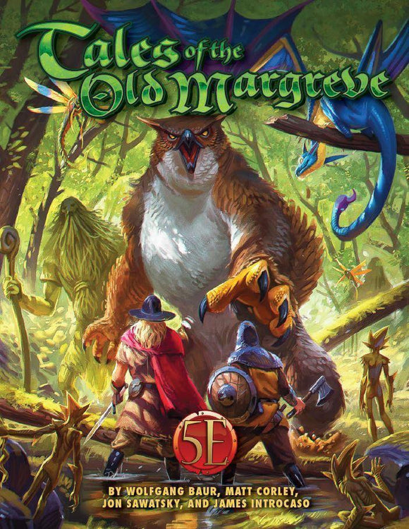 TALES OF THE OLD MARGREVE RPG FOR 5TH EDITION