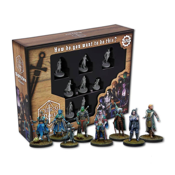 CRITICAL ROLE MINIATURES THE MIGHTY NEIN