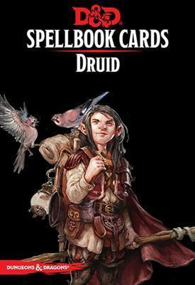 DUNGEONS & DRAGONS 5TH EDITION RPG DRUID SPELLBOOK CARDS (2017)