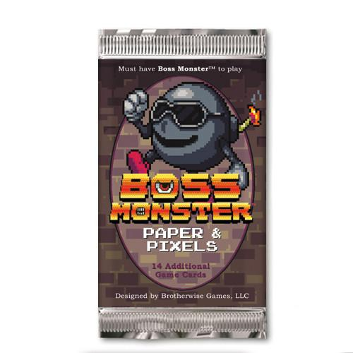 BOSS MONSTER 2: PAPER AND PIXELS FOIL BOOSTER EXPANSION