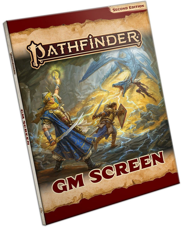 PATHFINDER 2ND EDITION RPG GM SCREEN