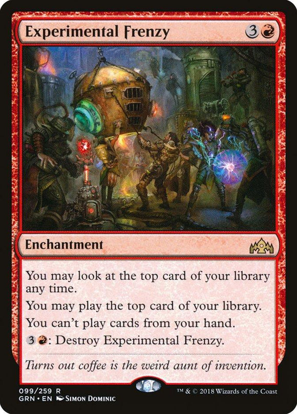 MTG SINGLE: EXPERIMENTAL FRENZY (GRN)