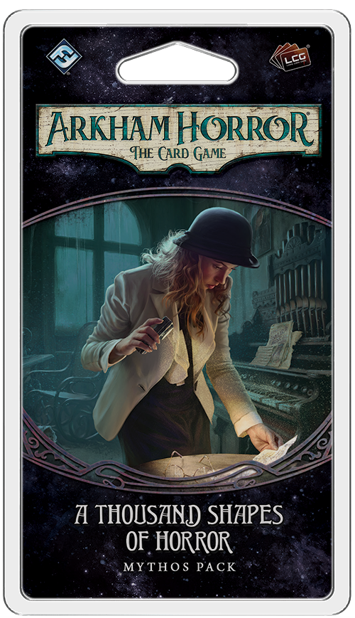 ARKHAM HORROR: THE CARD GAME LCG A THOUSAND SHAPES OF HORROR MYTHOS PACK