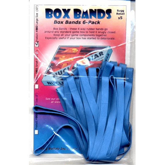 BOX BANDS - LARGE (PACK OF 6)