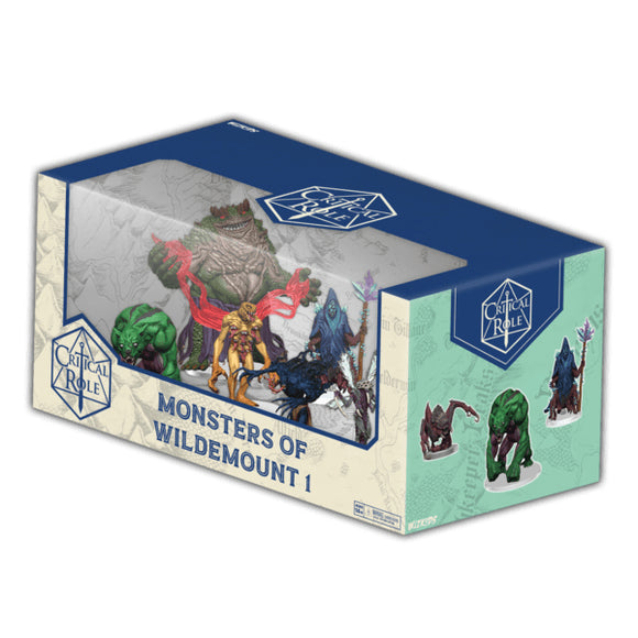 [PREORDER] CRITICAL ROLE PREPAINTED: MONSTERS OF WILDEMOUNT - BOX SET 1