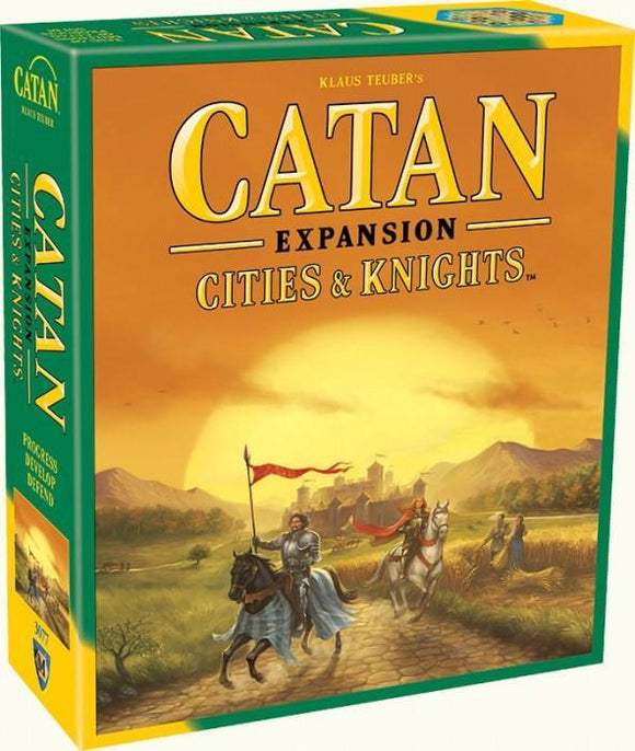 CATAN CITIES & KNIGHTS EXPANSION (2015 REFRESH)