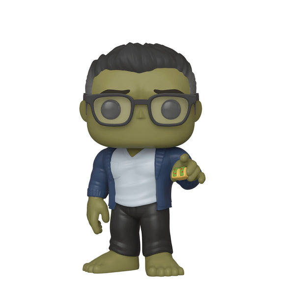 POP! MARVEL AVENGERS ENDGAME HULK W/TACO VINYL FIG