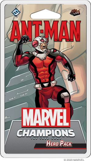 MARVEL CHAMPIONS THE CARD GAME ANT-MAN HERO PACK