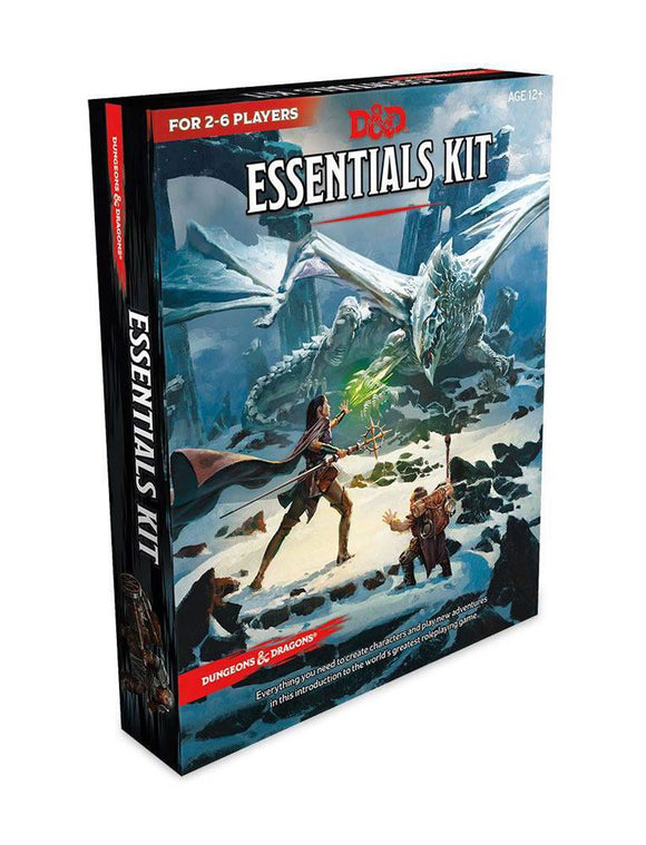 DUNGEONS & DRAGONS 5TH EDITION RPG ESSENTIALS KIT