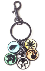 MAGIC THE GATHERING CHARMS METAL KEYCHAIN