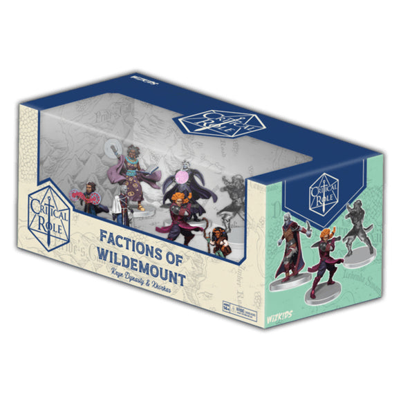 [PREORDER] CRITICAL ROLE PREPAINTED: FACTIONS OF WILDEMOUNT - KRYN DYNASTY & XHORHAS BOX SET