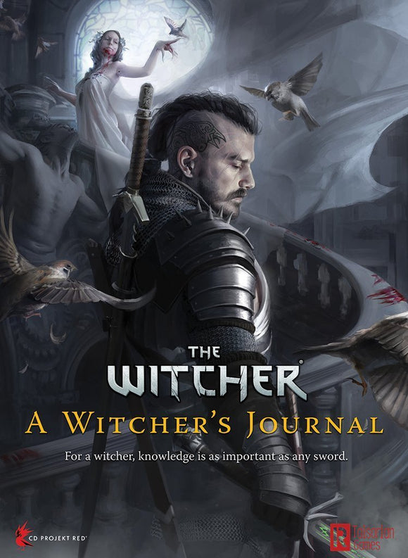 THE WITCHER RPG A WITCHER'S JOURNAL