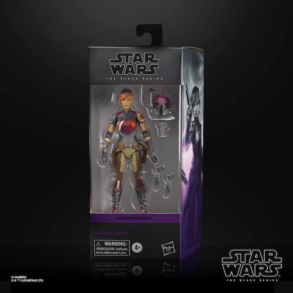 STAR WARS BLACK SERIES REBELS SABINE WREN 6IN AF