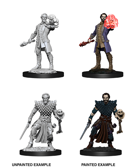 D&D NOLZUR'S MARVELOUS MINIATURES MALE HUMAN WARLOCK