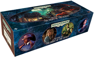 ARKHAM HORROR: THE CARD GAME LCG RETURN TO THE NIGHT OF THE ZEALOT EXPANSION