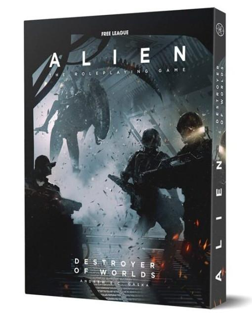 ALIEN RPG DESTROYER OF WORLDS CINEMATIC MODULE (PDF INCLUDED)