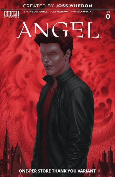 ANGEL BEING HUMAN ONE-PER-STORE VARIANT COMIC PACK